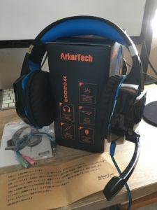 ArkarTechヘッドセット内容物一覧